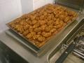 Quenelle di gambero rosso e granella di pistacchio