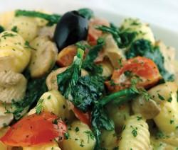 Pasta con Pollo Funghi e Spinaci - Crazy Chef