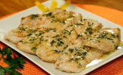 Scaloppine al vino bianco - Crazy Chef