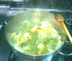 Brodo vegetale Crazy Chef