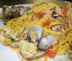 Spaghetti allo scoglio Crazy Chef