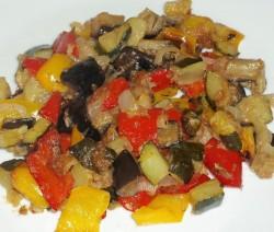 Misto di verdure al forno
