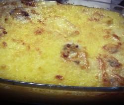 Polenta al gorgonzola
