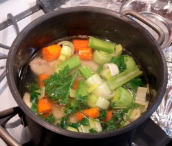 Brodo di Pollo Crazy Chef