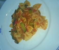 Farfalle all'ortolana - Crazy Chef