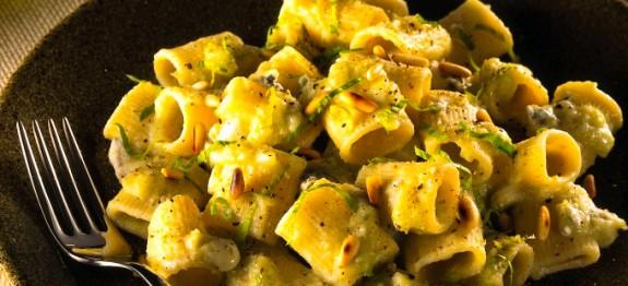 Rigatoni al gorgonzola e indivia